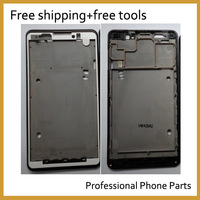 New Original Front Housing /Panel /LCD Frame/Faceplate Cover For Lenovo P780  Black Color . Free Shipping