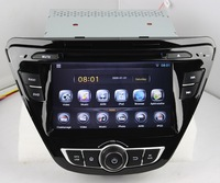 Capacitive multi-touch Android 4.2.2 A9 dual-core  Nand  8GB  1.6GHz  car dvd player fit for Hyundai Elantra 2014