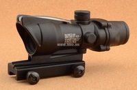 Tactical Hunting Shooting Trijicon Acog 1x32 Dot (green Optical Fiber)With Markings  M2284