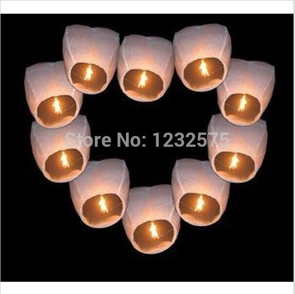 Free shipping Wholesale 1000pcs/lot 2014 Chineses Kongming Lantern Flying Sky Lantern Wishing Lamp(China (Mainland))