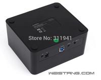 2014 new USB3.0+eSATA to Dual 2.5/3.5in SATA Hard Drive ORICO 6629SUS3-C SSD Docking Station HDD Enclosure