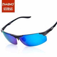 Genuine aluminum-magnesium men riding glasses polarized sunglasses sports sunglasses sunglasses