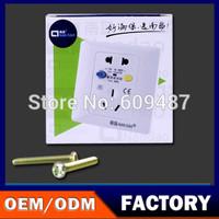 NanDao Brand 220V/10A Wall Socket Leakage Protection Socket  Free Shipping NF-BL5B-10a