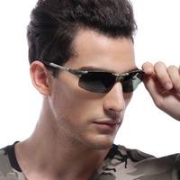Genuine aluminum-magnesium polarized sunglasses 2014 new male outdoor sports sunglasses men sunglasses influx of people driving