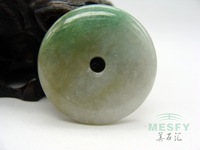 Certified Happy Angel Natural Burmese Emerald Jadeite  Jade Pendant 2.82 g Best Gift For Children Free Shipping On Sale