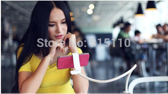 50pcs/lot DHL Free Universal phone Intelligent Multi-function Mobile Phone Holder Stylish Lazy Bracket Bedside Bed Bracket(China (Mainland))