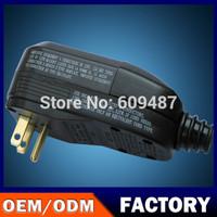 Free Shipping! Nandao Brand Leakage protection plug 110V15A NA15-3 for USA