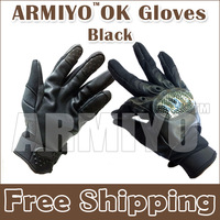 Armiyo Hunting OK Fitness Cycling Glove Tactical Gloves Army Full Finger  Combat Motorcycle Cycling Racing Black Mittens