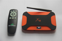 Hot sale  Perfect support XBMC X9 Dual System  RK3188  quad core 2GB 16GB Cortex A9  Bluetooth android tv box Android 4.4