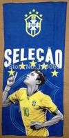 Brazil 10# Neymar da Silva  microfiber towel / brasil hand towel / facecloth
