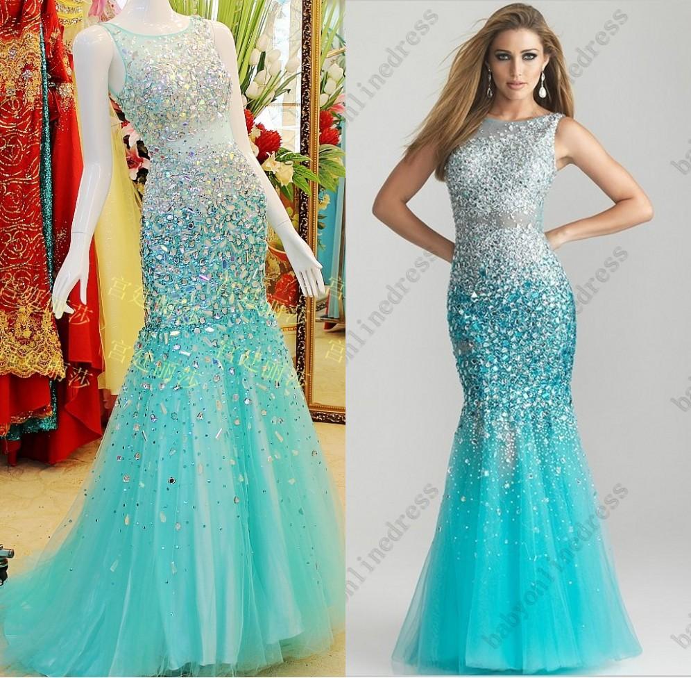 Mermaid Prom Dresses Long