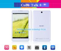 """Cube U27gt talk 8 3G Talk8 quad core Tablet PC 8"""" IPS 1280x800 Phone Call MTK8382 1.3GHz Android 4.4 1GB RAM 8GB WCDMA Bluetooth"""