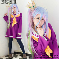 NO GAME NO LIFE sailor suit cosplay  Clothing women's full set of spot  Anime Products  Free shipping