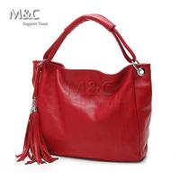New Arrival DUDU Tassel Fashion Cowhide Amphibious Women Handbag Genuine Leather Shoulder Bag Crossbody Bags for Women SD-107