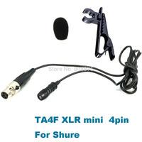 Pro Cardioid Lavalier Mic Microphone For PGX SLX ULX UT L Wireless Bodypack