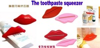 Lips shape  toothpaste squeezer,Cosmetics squeezer,daily use bathroom sets ,NO Track Number