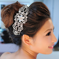 2014 New Arrival Cheap Fashion crown Nice rhinestone bridal tiara wholesale