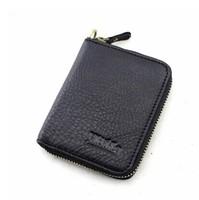 Business Vintage Men's soft wallet,First layer cowhide man purse 2014 Brand design Zipper short  wallet (1pcs/lot )