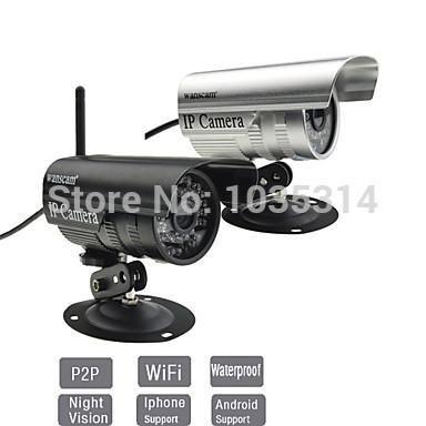Wanscam - Outdoor MiNi Wireless Waterproof IR IP camera with Free P2P(China (Mainland))