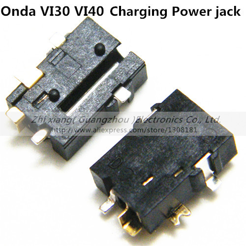 Free shipping 20pcs/lot 2.5mm* 0.7mm Charging Power Connector  for for Tablet PC Onda VI30  VI40 dc power jack socket(China (Mainland))
