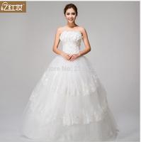 2014 new bra Wedding Dress Up Korean Princess flowers Qi's band fluffy yarn wholesale