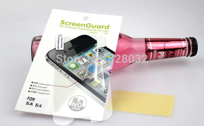 Защитная пленка для мобильных телефонов S4 Samsung S4 I9500 10 пленка защитная зеркальная vertex для samsung galaxy s4