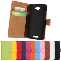 2014 New Colors Leather Wallet Case Stand Cover For HTC One S Z520e Mobile Phone Cases With Card Hold