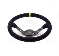 OMP suede leather Sport Car Steering Wheel 14 inch OMP Steering Wheel