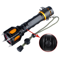 New CREE XM-L L2 LED Flashlight Torch Waterproof Light 18650 + Charger for Camping Hiking