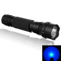 WF-501B CREE Q5 Single-Mode 200 Lumens Hunting LED Flashlight-Blue Light