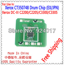 For Xerox Image Drum Unit CT350748 Refill Chip,Drum Chip For Xerox DocuCentre-III C3300 C3305 Copier,Parts For Xerox Drum UnIt