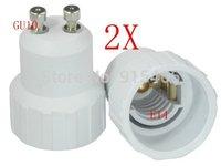 Free Shipping! 50 pcs/lot wholesale&retail GU10 to E14 adapter high quality