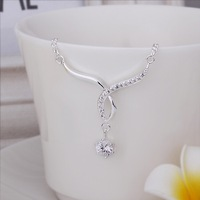 New Arrival!!Wholesale Sterling 925 Silver Anklets,925 Silver Fashion Jewelry,hanging Zircon inlaid stone Anklets SMTA014