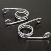 2PCS Single-seat Motorcycle Accessories Cushion Springs For Harle motorcycle car