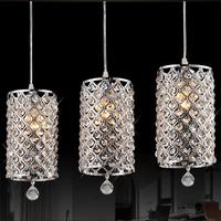 Free Shipping 1PCS Modern Crystal Ceiling Light Pendant Lamp Fixture Lighting Chandelier