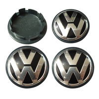 "4pcs/lot 70mm VW Volkswagen Center Cap Emblem P/N 7L6601149B 2.756"" 2008-2010 Volkswagen Touareg Wheel Hub Cap"