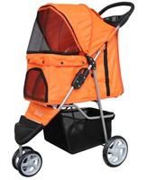 2014 FREE SHIPPING Cat Stroller Cart Dog Stroller Cart Cat Roadster Dog Roadster Pet Roadster ORANGE