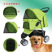 2014 FREE SHIPPING Cat Stroller Cart Dog Stroller Cart Cat Roadster Dog Roadster Pet Roadster GREEN