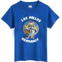 Breaking Bad Cotton O-Neck T-shirt LOS POLLOS HERMANOS BREAKING BAD Plus Size Short Sleeve Tops Tees For Men Women