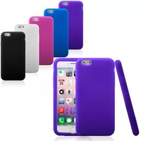 Free shipping 10X NEW ARRIVAL Silicon soft case back cover protective shell skin for iPhone 6
