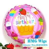 "Balloon Birthday Party Decoration happy birthday balloon Baby Kids Cartoon Balloons Gift  10pcs/lot  18"""
