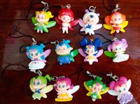 wholesale 20pcs/lot shinee kpop kawaii Animated cartoon angel can fly phone  lanyards
