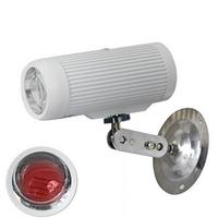 CCTV Surveillance  940nm 2800mW 45 Degree White  LED Barrel Light Source IR Illuminator 40M Invisbile Infrared for CCTV Camera