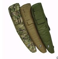 "Tactical 911 1m 40"" Heavy Duty Gun Carrying Bag/Rifle Case Rifle Gun Slip carry Rifle Bag -Back/Muddy/CP/Green"