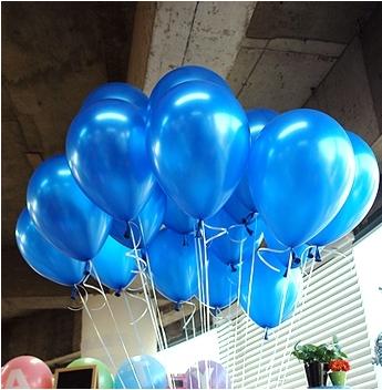 Free Shipping 100pc/Lot 10' Inch1.2g Dark Blue Balloon New 2014 Baby Shower Birthday Party Wedding Decoration Balloon(China (Mainland))
