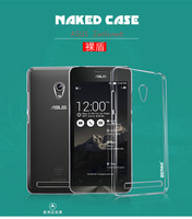 2014 Sale Real 1pcs Original Bepak Brand Naked Back Transparent Cover For ASUS zenfone 6 case  with free Screen Protector