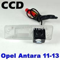 free shipping night vision waterproof  backup car rear view color ccd camera with IR4 LED for Opel Antara 2011 2012 2013