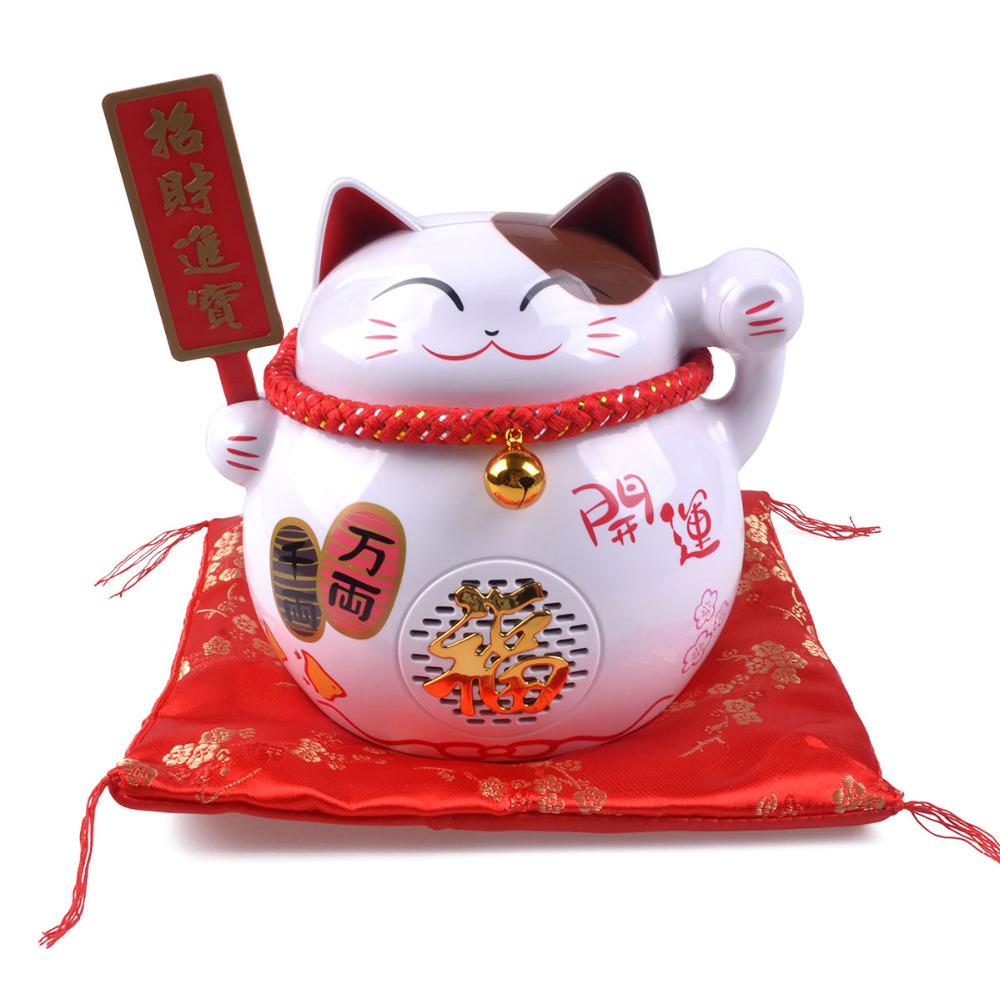 Lucky Cat Wireless Bluetooth Speaker Hifi Stereo For iPhone 5 5S Samsung S4 S5(China (Mainland))