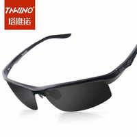 Men's sunglasses polarizer tide male drivers driving mirror sunglasses men sunglasses authentic new aluminum-magnesium