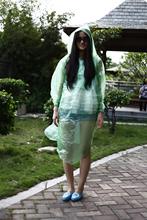 popular emergency rain poncho